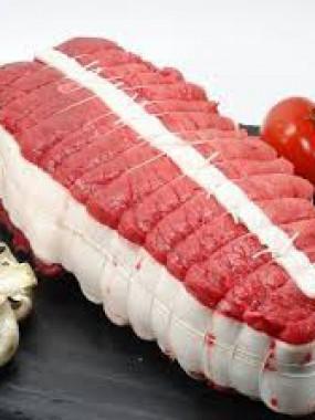 Rôti de bœuf tende de tranche
